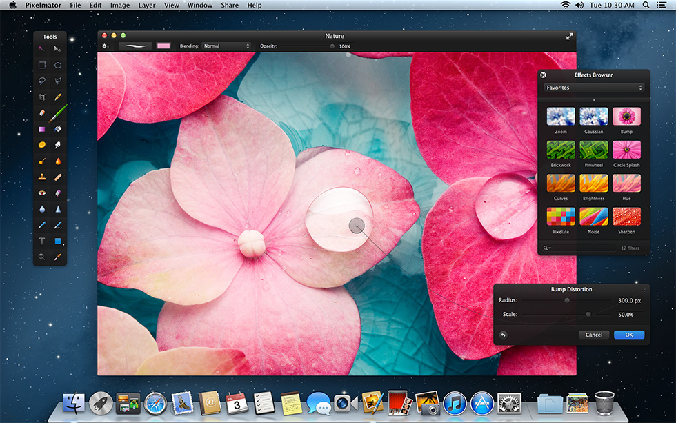 Pixelmator Adds Support for OS X Mountain Lion - Pixelmator Blog